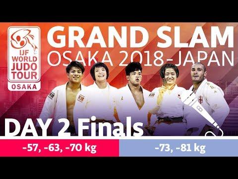 Judo Grand-Slam Osaka 2018: Day 2 - Final Block