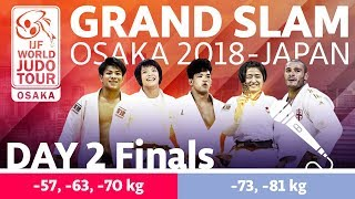 Judo Grand-Slam Osaka 2018: Day 2 - Final Block