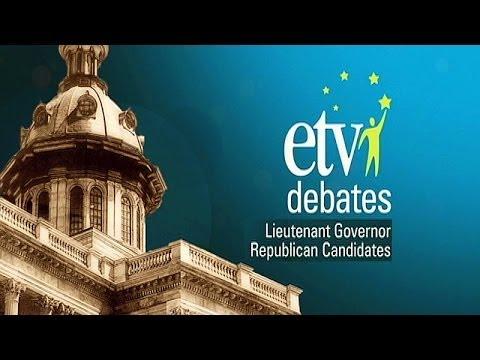 Lt. Governor Republican Debate
