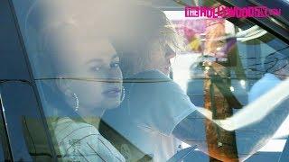 Justin Bieber & Hailey Baldwin Get Hype To Their Favorite Song While Cruising Around LA 10.12.18