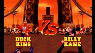 Fatal Fury: Wild Ambition (PlayStation) Arcade as Duck King
