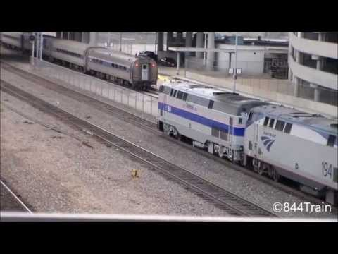 Amtrak #184 Leads the Southwest Chief at Kansas City Union Station