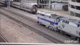 Amtrak #184 Leads the Southwest Chief at Kansas City Union Station