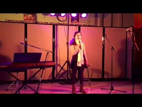 Alexa Rayne (12-years-old) sings Let The River Run by Carly Simon