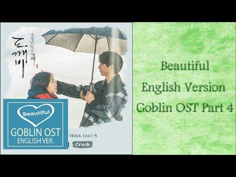[Lyrics Karaoke] Beautiful - 크러쉬 (CRUSH) 도깨비 OST Part 4  English Ver. By Lin Soo
