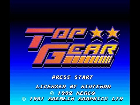 SNES Longplay [213] Top gear