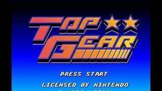 SNES Longplay 213 Top Gear