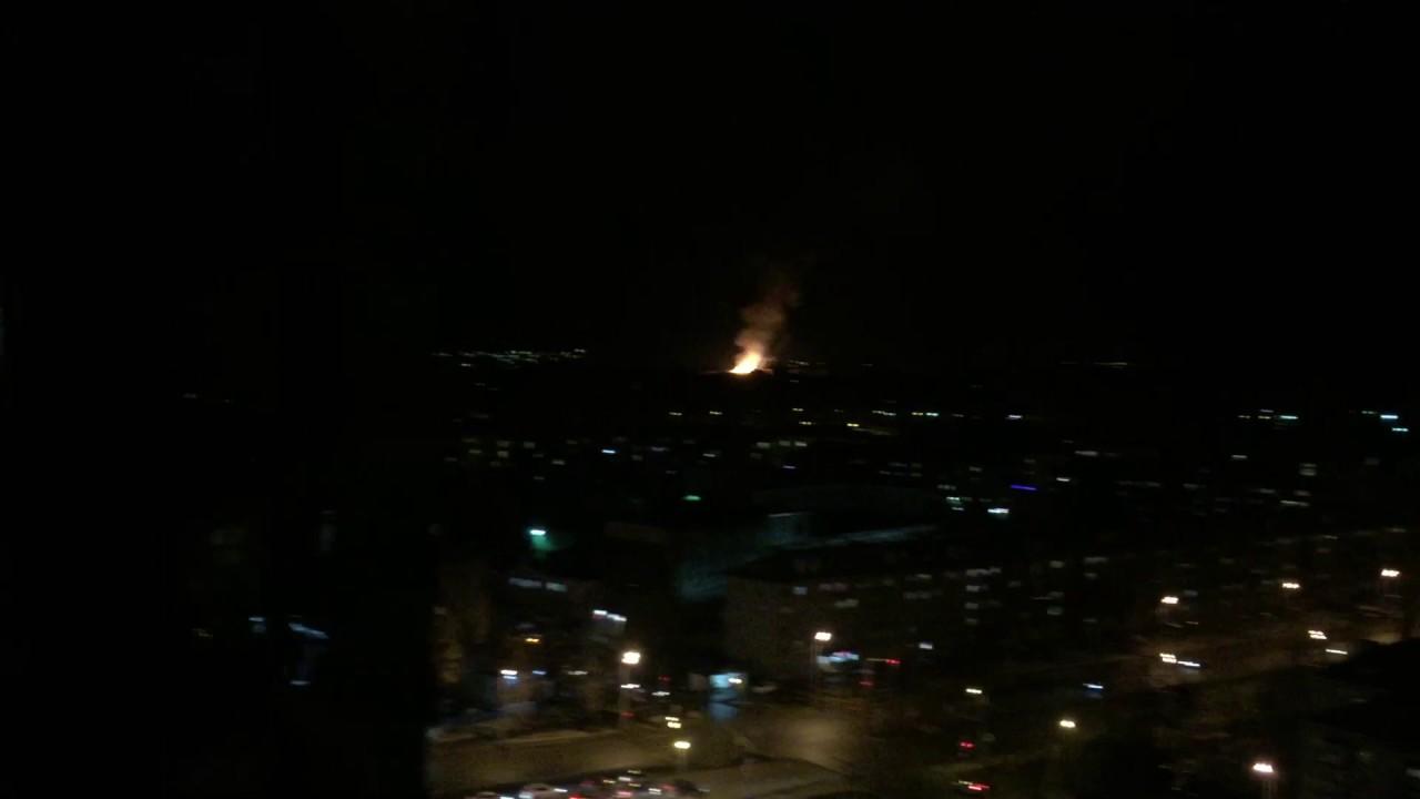 Огонь на Пороховом заводе Казань