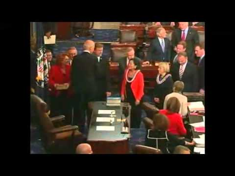 New US Senators Sworn In