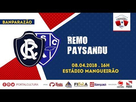 BANPARAZÃO 2018 - FINAL - REMO 1 X 0 PAYSANDU - AO VIVO