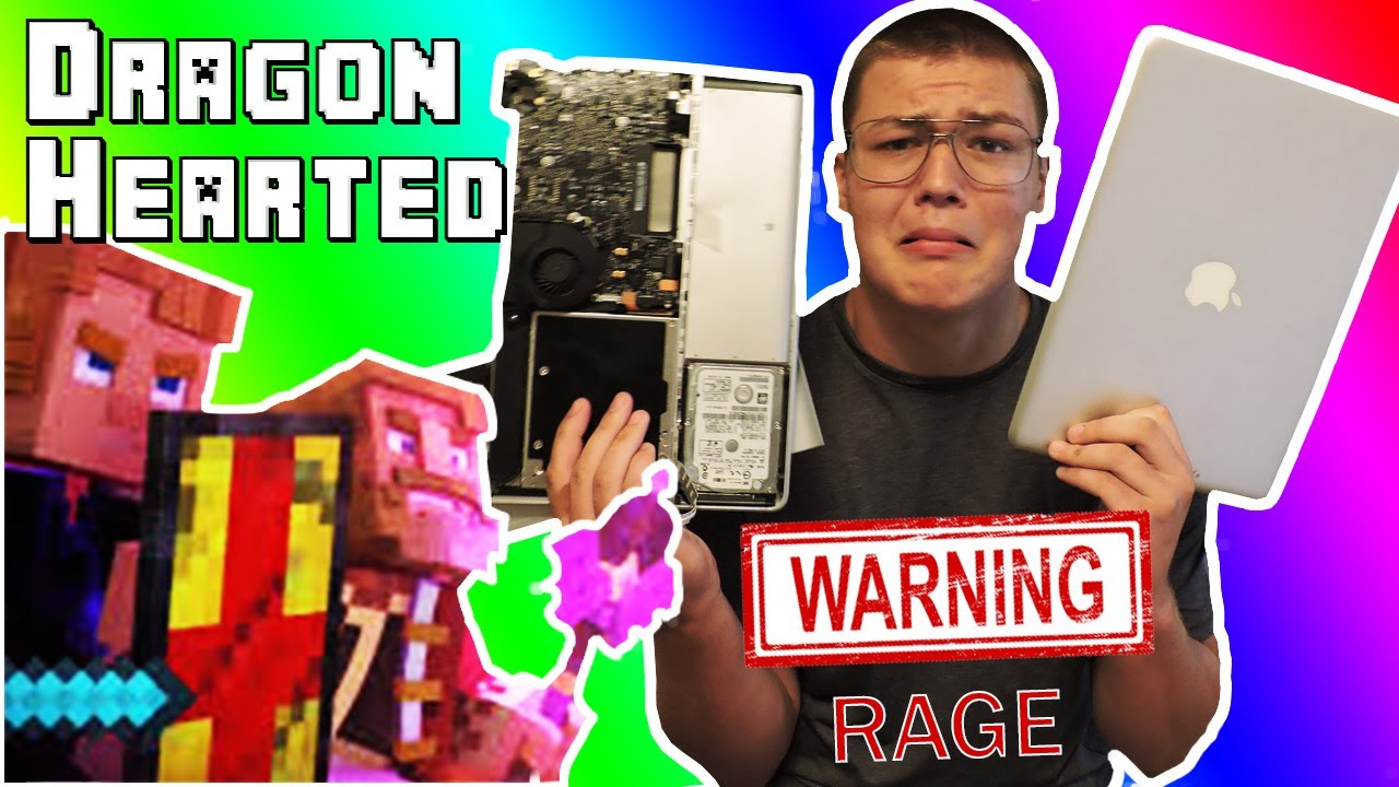 Dragon Hearted Reaction (I broke  my macbook)