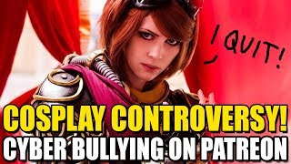 MTG Cosplayer Bullied into Quitting!? | UnsleevedMedia vs. Sprankle