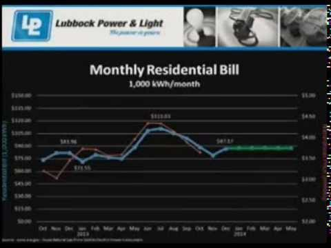 11-12-13 Council - Lubbock Power and Light Quarterly Report