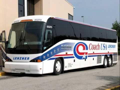 Megabus Tour Bus