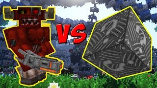 CYBORG DO INFERNO VS. LUCKY BLOCK DE METAL (MINECRAFT LUCKY BLOCK CHALLENGE)