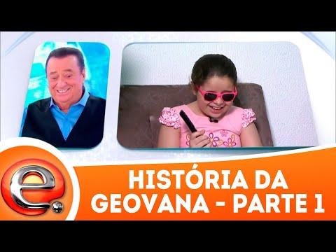História da Geovana - Parte 1 | Programa Eliana (01/04/18)