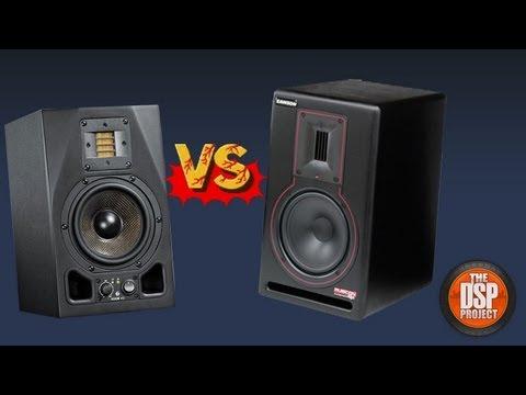 studio monitors adam audio a5x vs samson rubicon r5a the dsp project youtube. Black Bedroom Furniture Sets. Home Design Ideas