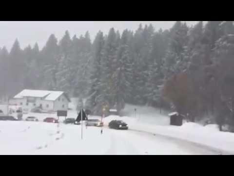 Irre: 5 Audi-Quattro-Fahrer ziehen Lkw die Rusel bei Deggendorf hoch | pnp.de