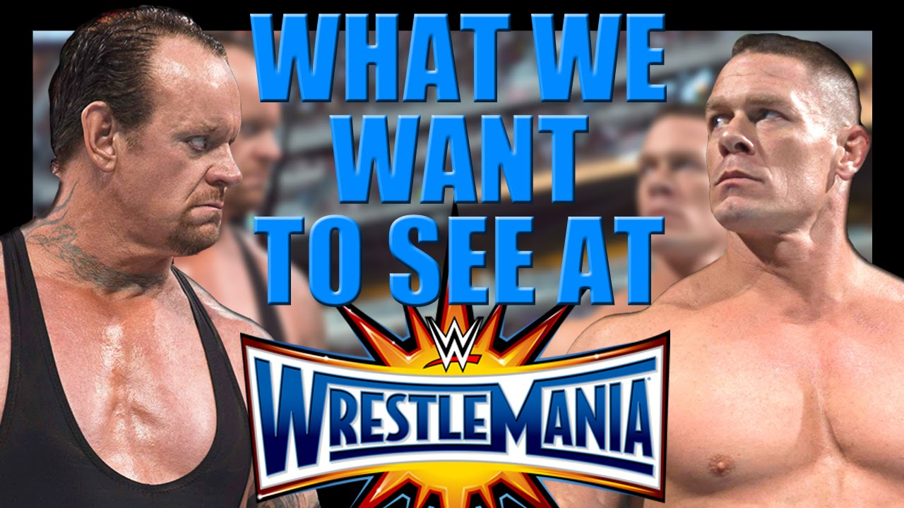 Download 6 moments we want to see at WrestleMania 33
