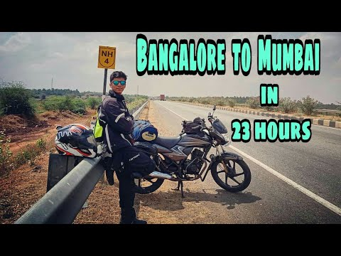 BANGALORE TO MUMBAI | IN 23 HOURS | HONDA DREAM YUGA