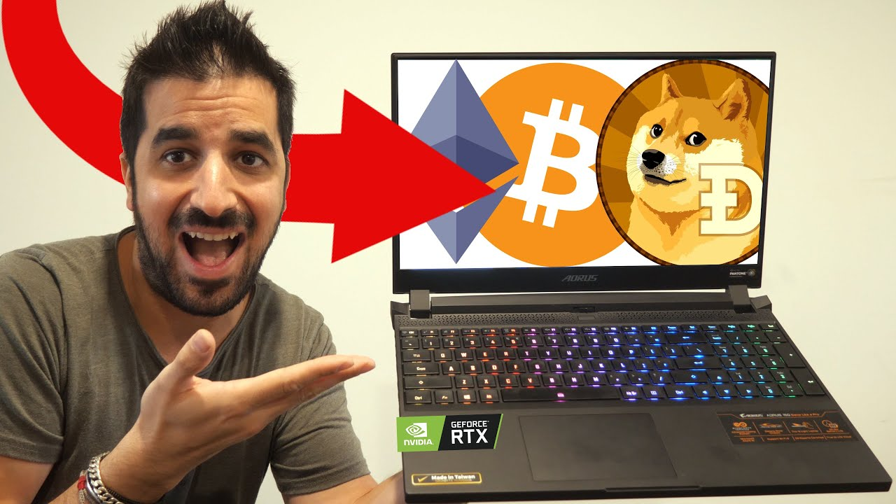 Mining Bitcoin / Ethereum With RTX 3080 on Aorus 15G Laptop