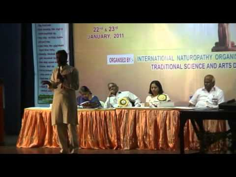 Cancer & Nature Cure Part 1 of 2 - A talk in Tamizh by Shakthivijayan
