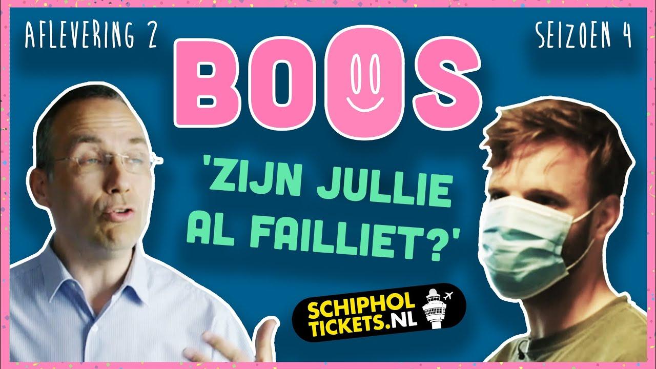 SCHIPHOLTICKETS.nl maakt MILJOENEN KWIJT en is ONBEREIKBAAR | BOOS S04E02