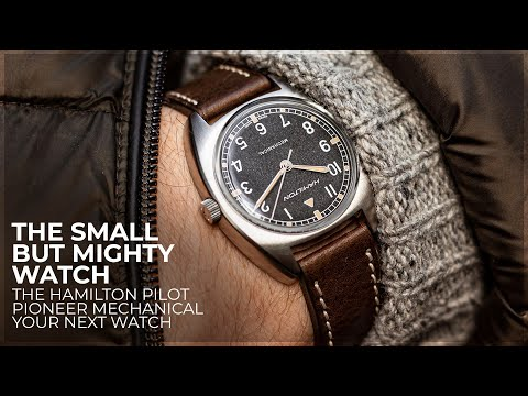 The Small But Mighty Watch - The Hamilton Pilot Pioneer Mechanical Review by WatchGecko