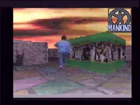 #71 AERIAL MANKIND. Amiga 1200 AGA démo HD,Blizzard 1230