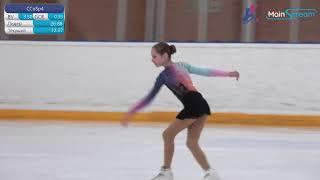 Первенство ГБУ СШОР 1 Весенняя капель по фигурному катанию на коньках День 1