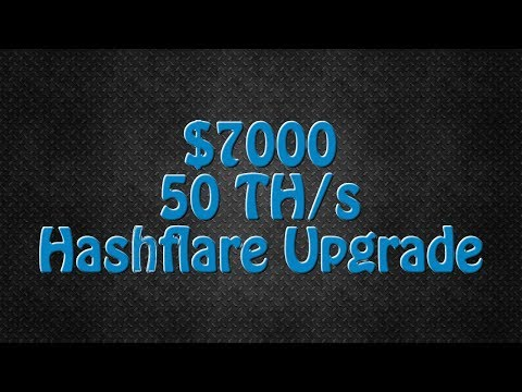 My Biggest Bitcoin Mining Contract Ever! 50 TH/s Hashflare Cloud Mining Upgrade!