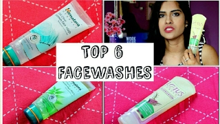ULTIMATE TOP 6 FACEWASHES UNDER RS.500 FOR OILY,COMBINATION AND ACNE PRONE SKIN || DebleenaBiswas