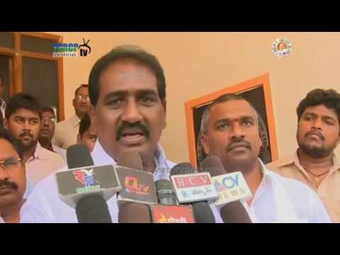 Guntur : YSRCP Leaders Meet District SP for providing Security for YS Jagan Deeksha - 29th Apl 17