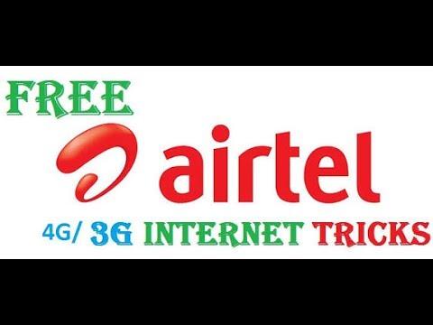 Free Internet 4G/3G  in AirTel  Latest Update