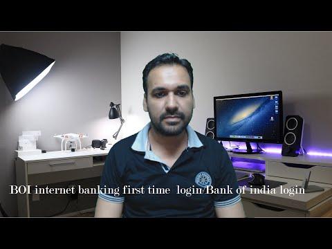 BOI internet banking first time login/Bank of india login [Urdu/Hindi]