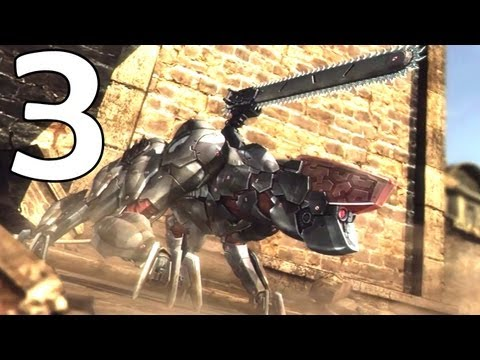 Metal Gear Rising Commentary Walkthrough -3- Raiden Vs LQ84i