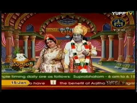 8Aradhyula Koteswara Rao  Sri Krishna Tulabharam  SVBC Sankranthi Special Part 08wmv