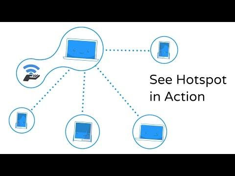 Connectify Hotspot - The World's Most Popular WiFi Sharing Software