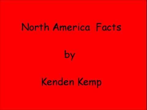 Facts about North America (Homeschool Project)