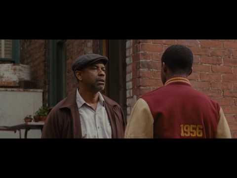 Fences (2016) Troy vs Cory fight scene 1080p (High quality)
