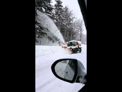 Spazzaneve limone piemonte cuneo, camion spara neve