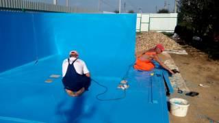 видео Бассейн из полипропилена | Пластиковые бассейны в Екатеринбурге