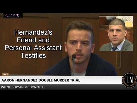Aaron Hernandez Trial Day 18 Part 3 (Ryan McDonnell Testifies) 03/28/17