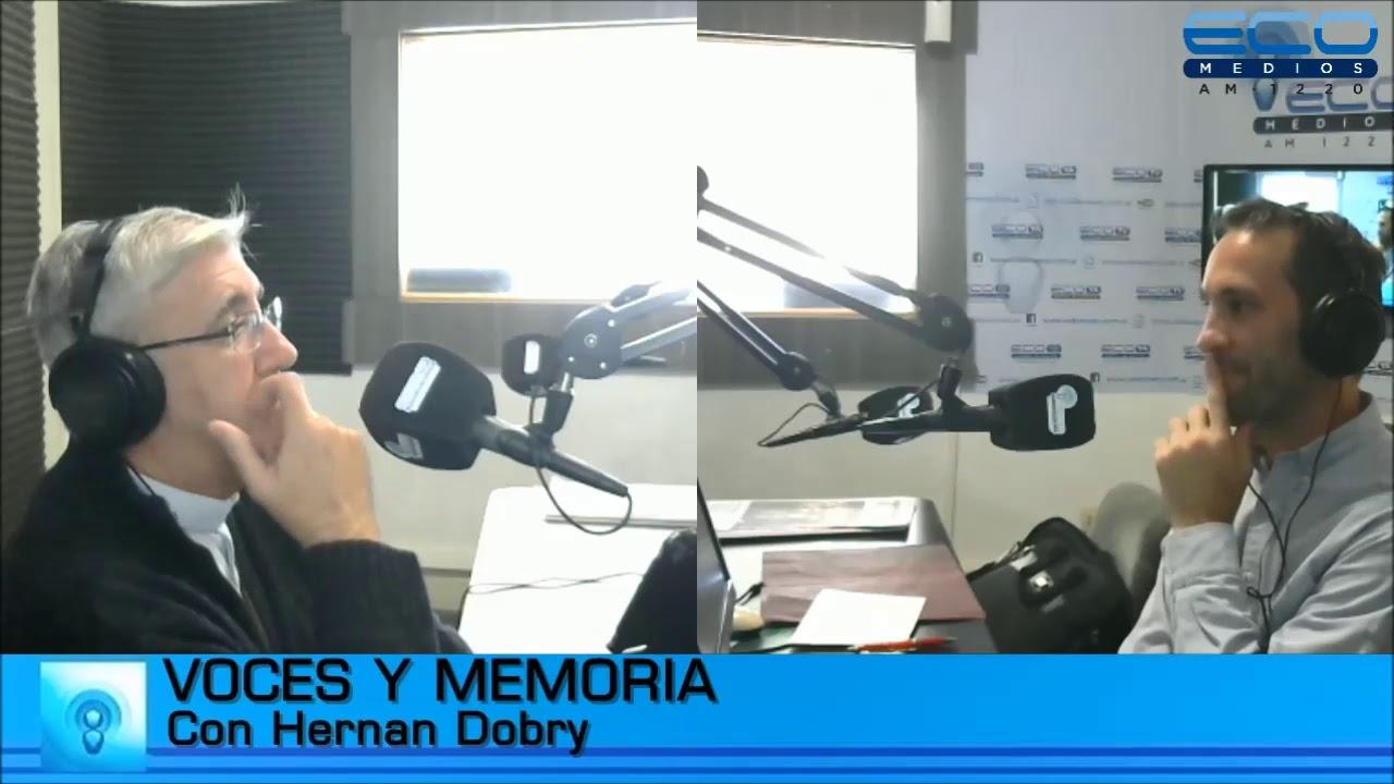 Entrevista con el padre Guillermo Marcó en el programa Voces y ...