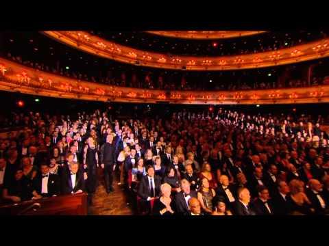 Paloma Faith | 'Never Tear Us Apart' at the BAFTAS | Urban Voices Collective