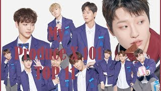 Cover images Produce X 101: My top 11 - Post 1st elimination