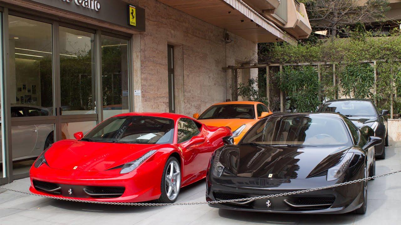 Ferrari monaco showroom scuderia cavallari montecarlo for Garage ferrari monaco
