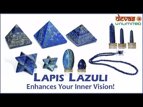 Lapis Lazuli - A Crystal That Enhances Your Inner Vision