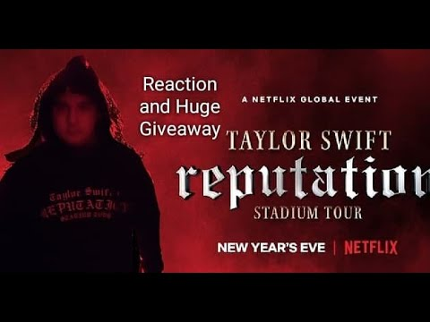 Reputation Stadium Tour *Full Movie* Reaction and Huge Giveaway