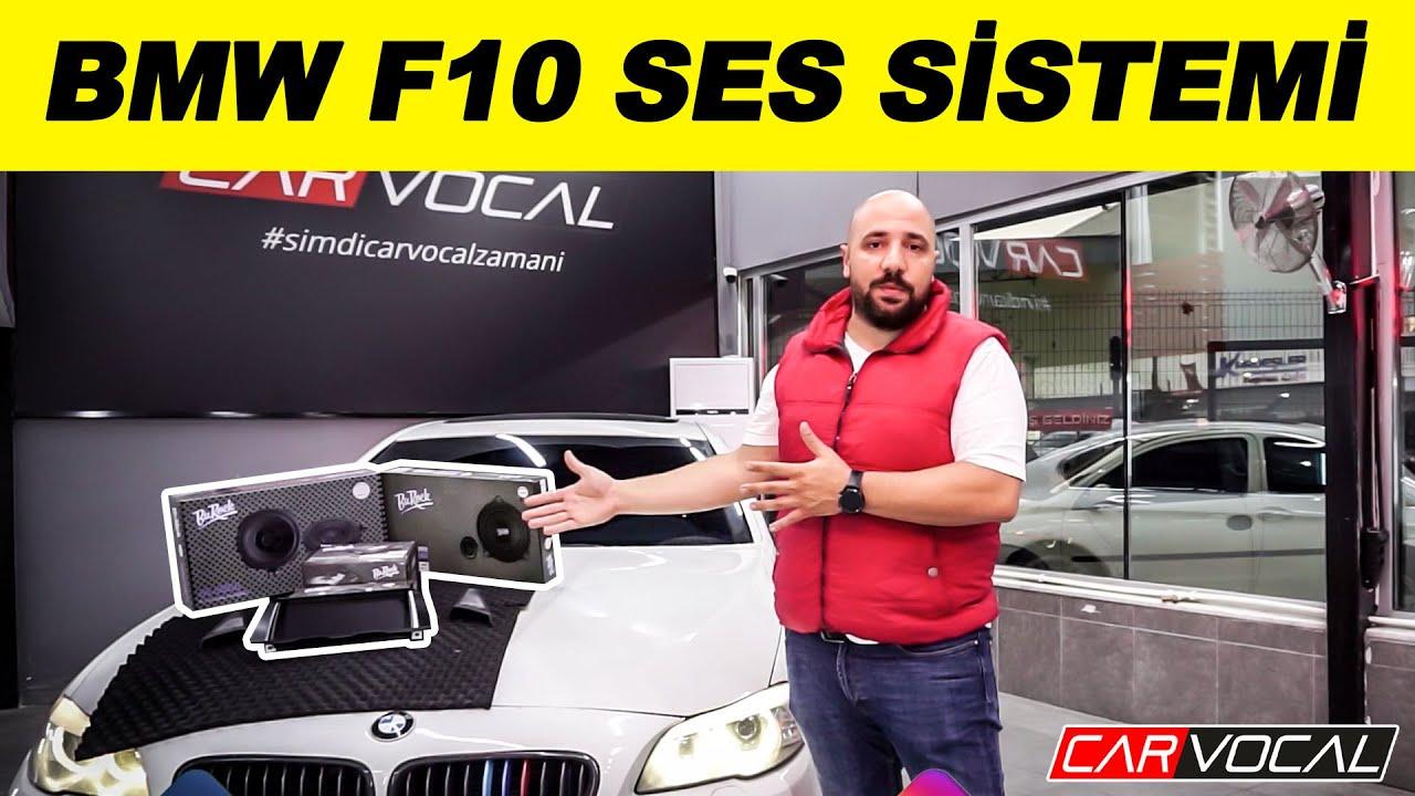 BMW F10 Ses Sistemi ve Multimedya Ekran Uygulaması